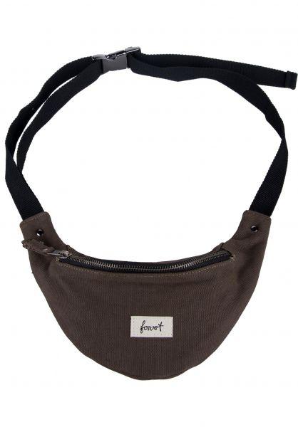Forvert Hip-Bags Cosmo darkolive Vorderansicht