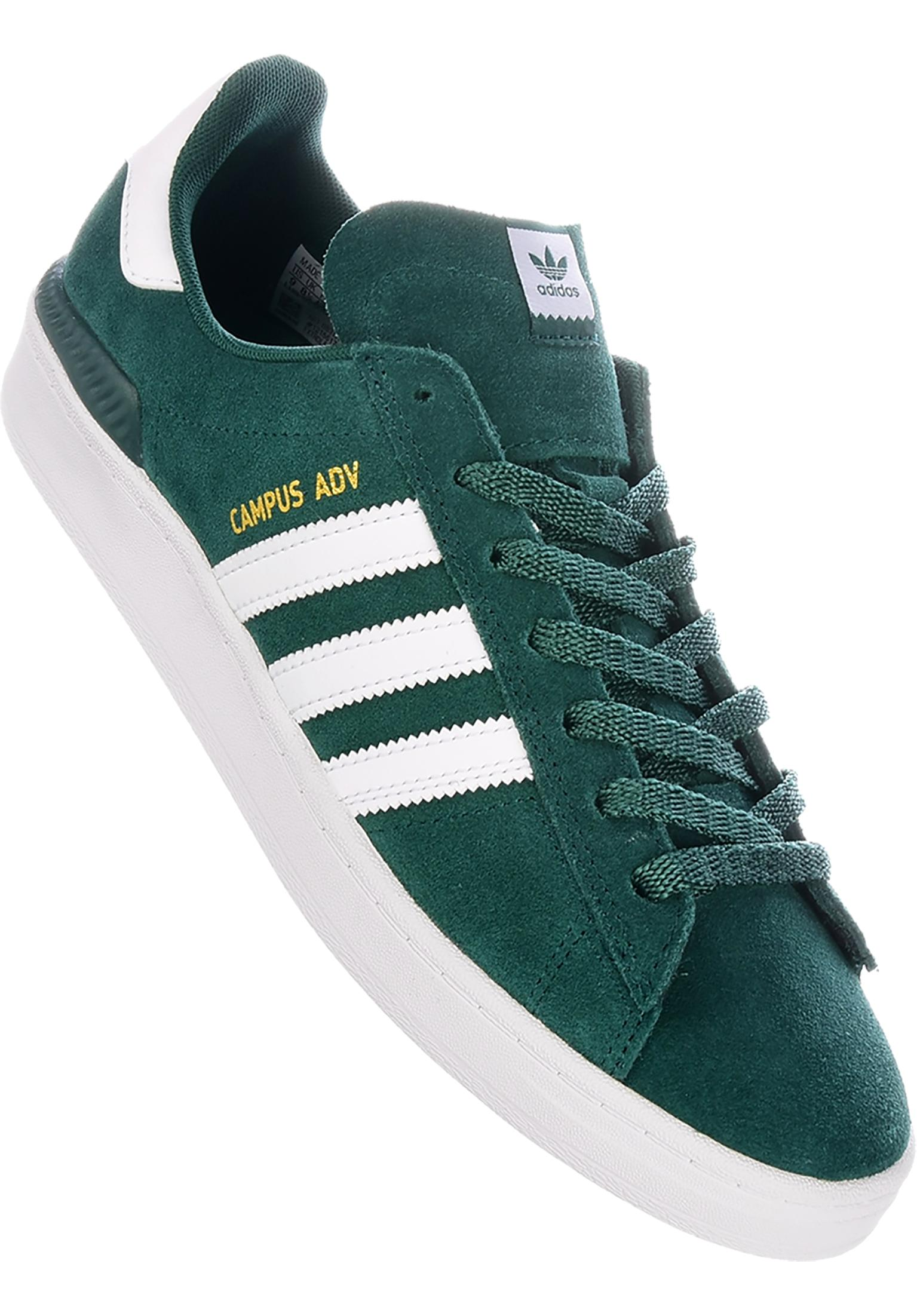 sports shoes 04325 9bdbe Campus ADV adidas-skateboarding Tutte le scarpe in green-white-gold da Uomo    Titus