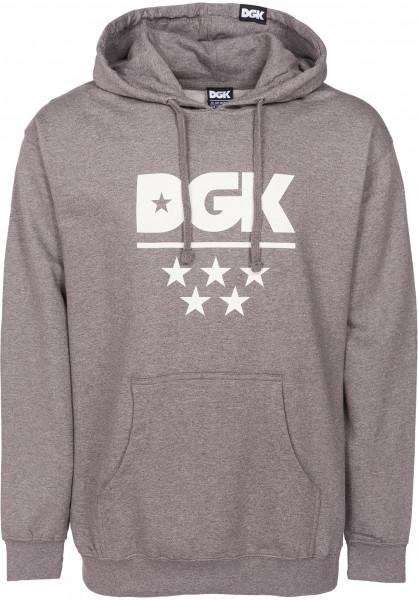 DGK Hoodies All Star gunmetal Vorderansicht