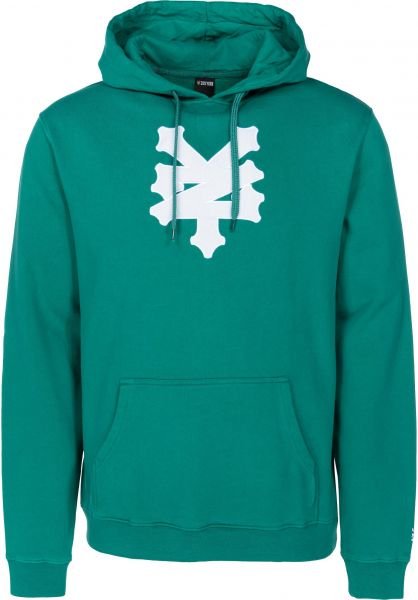 Zoo York Hoodies Cracker huntergreen vorderansicht 0445114