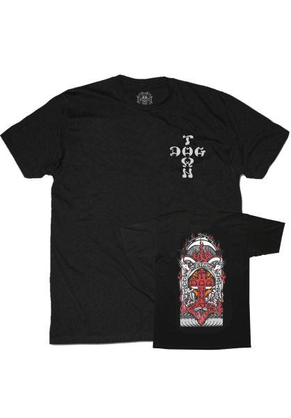 Dogtown T-Shirts Scott Oster black vorderansicht 0395119