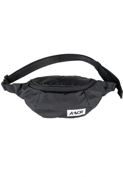 AEVOR Hip-Bags Hip Bag ripstop-black vorderansicht 0169111