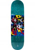 Polar Skate Co Skateboard Decks Oscar Rozenberg Underwater Kingdom blue Vorderansicht