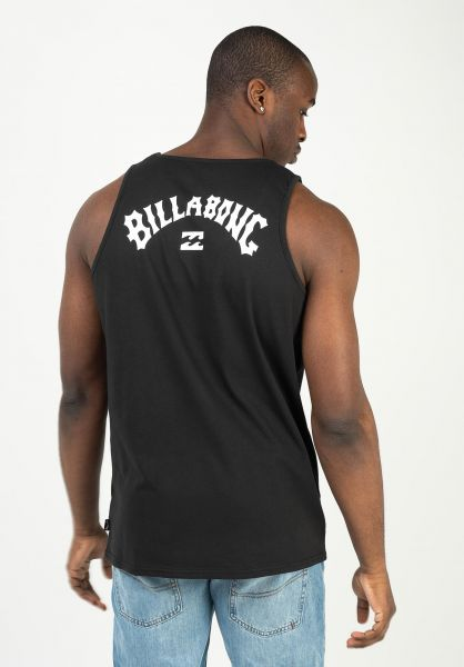 Billabong Tank-Tops Arch Wave Tank black vorderansicht 0137934