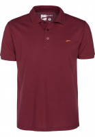 Rules Polo-Shirts Maik darkburgundy Vorderansicht