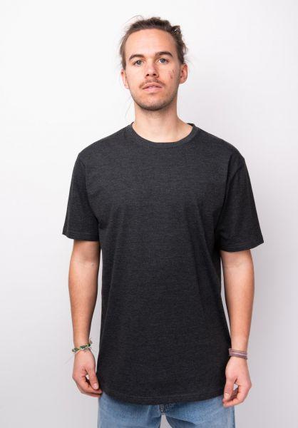 TITUS T-Shirts Essential Tee darkgreymottled vorderansicht 0399218
