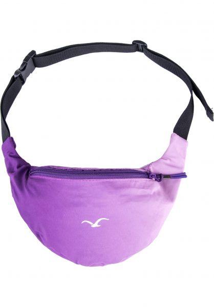 Cleptomanicx Hip-Bags Super Pattern acaipurple vorderansicht 0169079