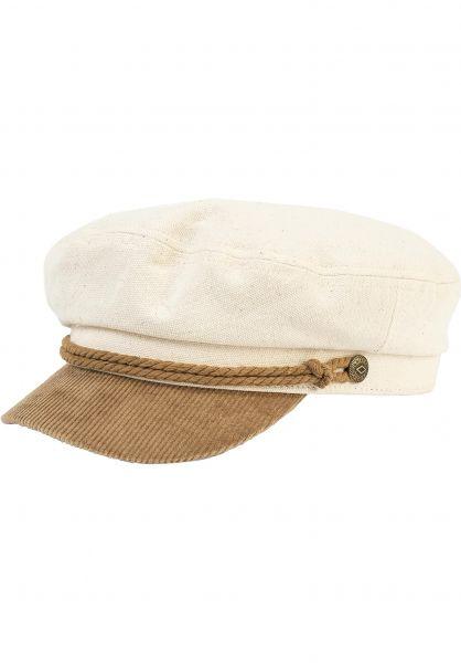 Brixton Hüte Fiddler beige-tan vorderansicht 0580162