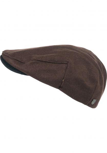 Brixton Hüte Hooligan brown-black vorderansicht 0580163