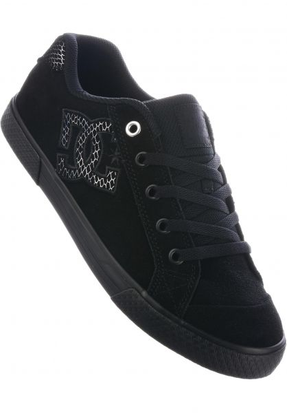 DC Shoes Alle Schuhe Chelsea SE black-silver-black Vorderansicht 0610567