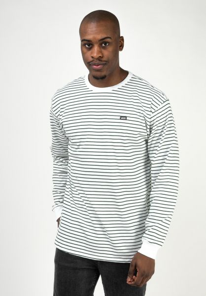 Vans Longsleeves Off The Wall Classic white-pineneedle vorderansicht 0383679