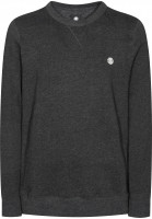 Element-Sweatshirts-und-Pullover-Cornell-heathercharcoal-wht-Vorderansicht