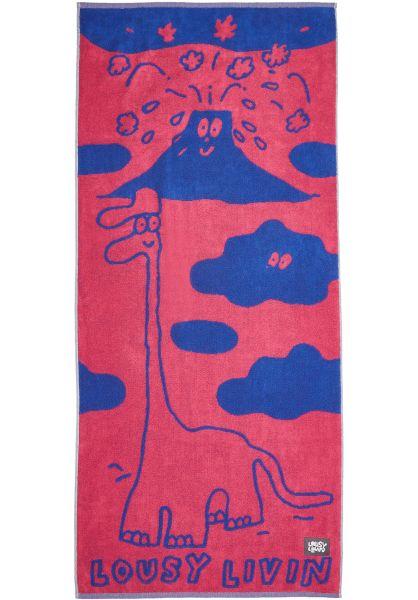 Lousy Livin Verschiedenes Lousy Towel dinos-pink vorderansicht 0972830