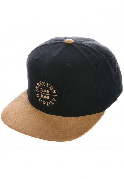 Brixton Caps Oath III tan-black vorderansicht 0562576