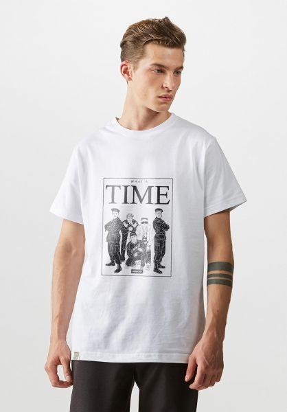 Wemoto T-Shirts Goodtimes white vorderansicht 0399603