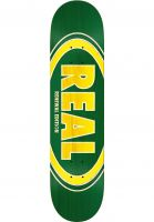 Real Skateboard Decks Oval Duo Fade green Vorderansicht 0260746
