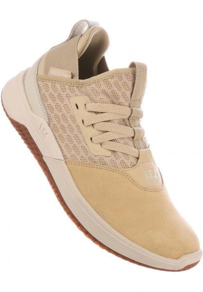 Supra Alle Schuhe Titanium mojavebone-gum Vorderansicht