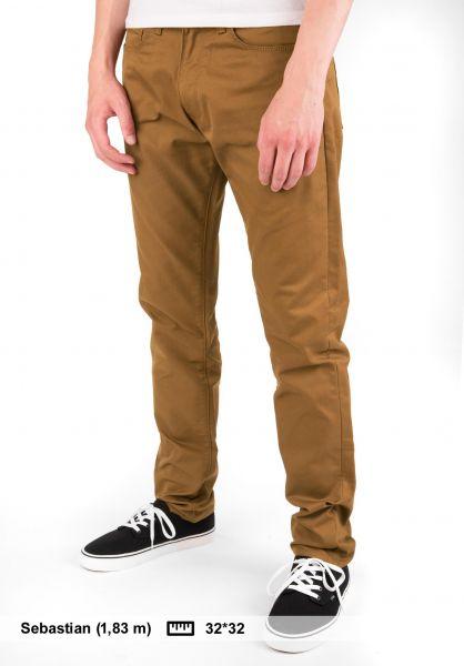 Carhartt WIP Jeans Vicious Pant (Lamar) hamiltonbrown Vorderansicht