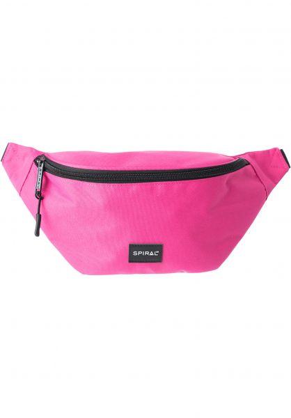 Spiral Hip-Bags Core Bum Bag pink Vorderansicht