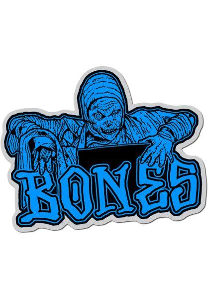 """Bones Wheels Verschiedenes Time Beasts Creeper 4"""" Sticker blue vorderansicht 0972292"""
