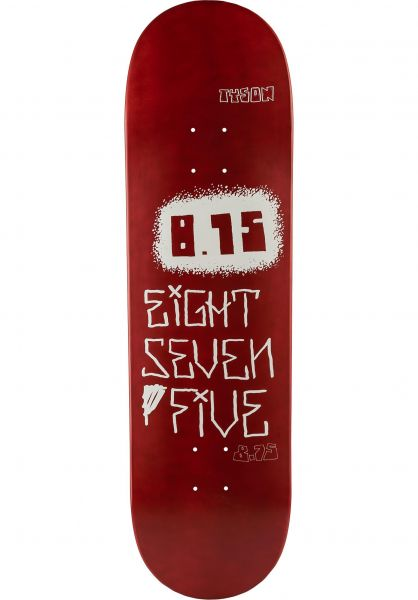 Baker Skateboard Decks Peterson Mega red vorderansicht 0263413
