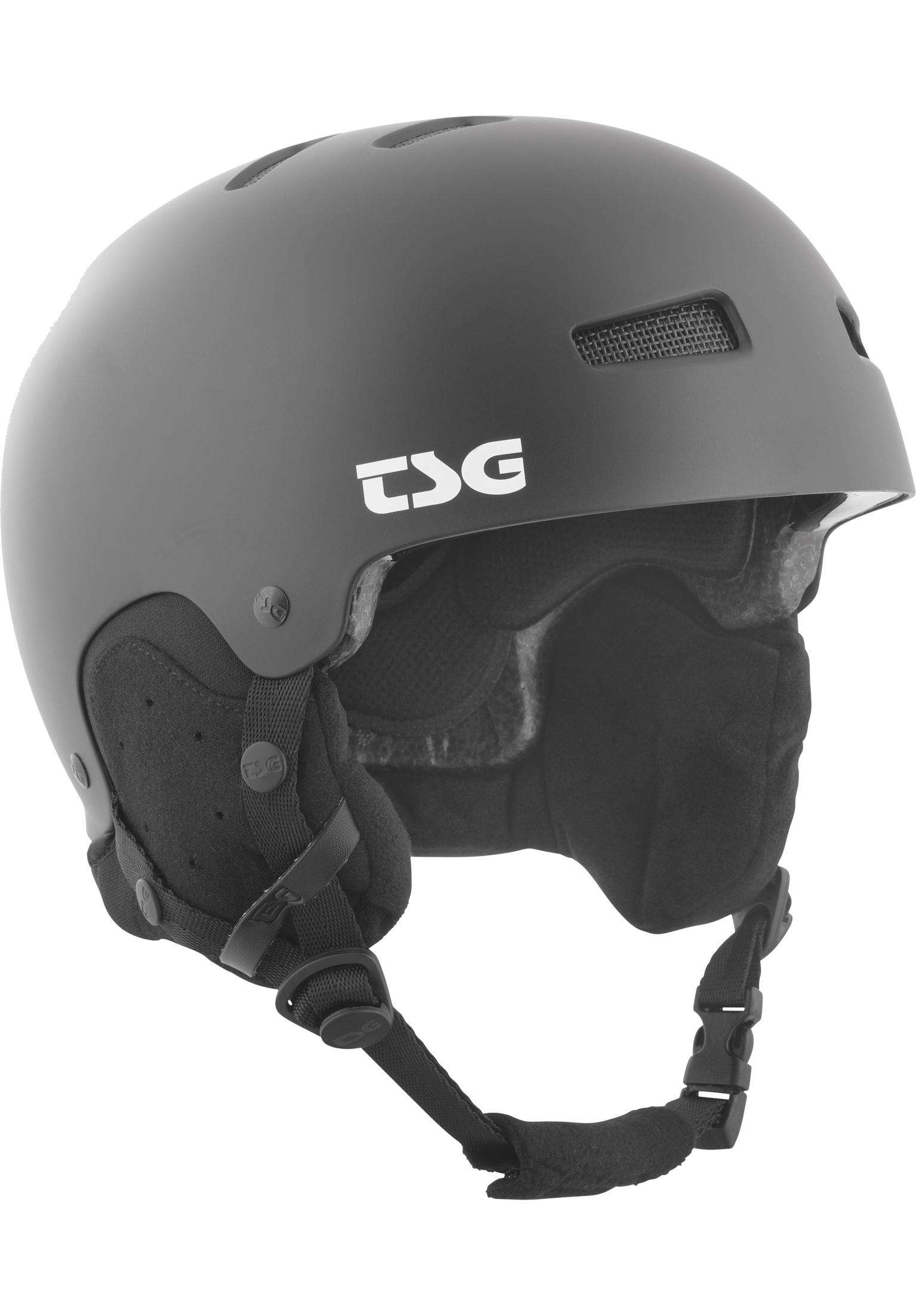 b9d414e9f0 Gravity Solid Color TSG Snowboard Helmets in satin black