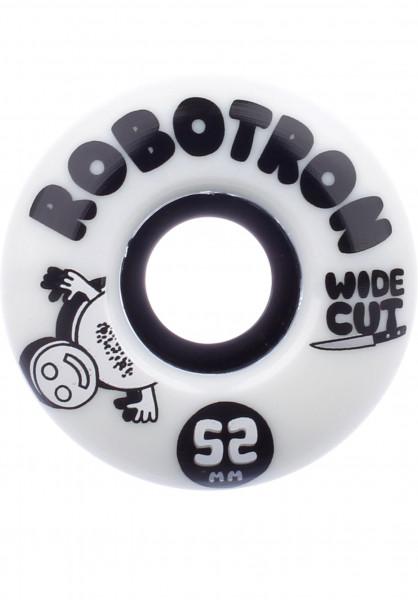 ROBOTRON Rollen Wide Cut 101A white Vorderansicht