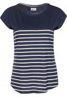 forvert-t-shirts-newport-navy-beige-vorderansicht