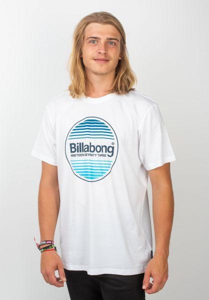 Billabong T-Shirts Atlantic white vorderansicht 0320102