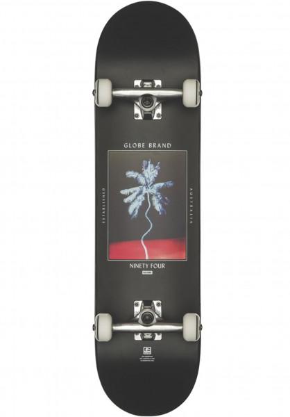 Globe Skateboard komplett Palm Off black Vorderansicht