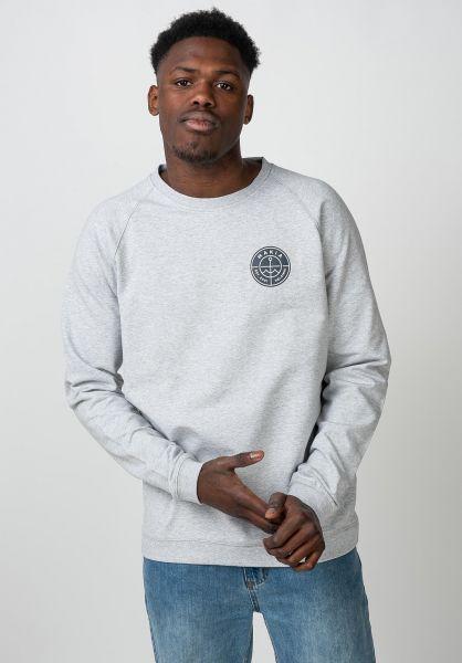 Makia Sweatshirts und Pullover Esker Light lightgrey vorderansicht 0422874