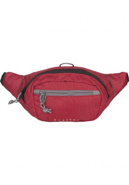 Forvert Hip-Bags Lenn red Vorderansicht