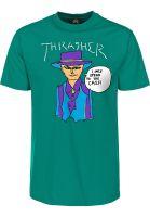 Thrasher T-Shirts Gonz Cash jade vorderansicht 0399150