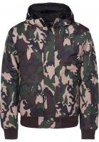 Dickies Winterjacken Cornwell camouflage Vorderansicht