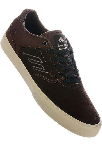 Emerica Alle Schuhe Reynolds Low Vulc brown vorderansicht 0604638