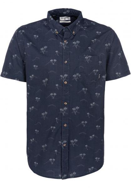 Billabong Hemden kurzarm Sunday Mini darkroyal vorderansicht 0400801