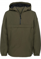 Reell-Windbreaker-Hooded-Windbreaker-olive-Vorderansicht