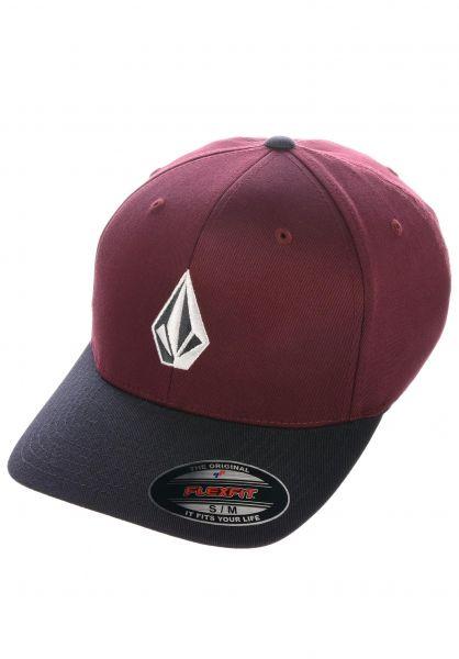 Volcom Caps Full Stone XFIT pumice vorderansicht 0565957