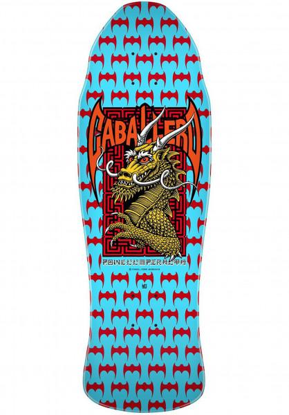 Powell-Peralta Skateboard Decks Caballero-Street blue Vorderansicht