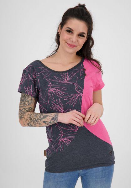 alife and kickin T-Shirts Zoe fuchsia 121 vorderansicht 0391916
