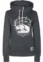 Rebel-Rockers-Hoodies-Fox-darkgrey-Vorderansicht