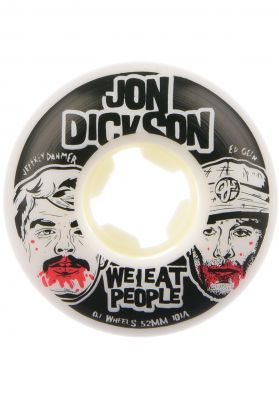 OJ Wheels Dickson We Eat People Insaneathane EZ EDGE 101a