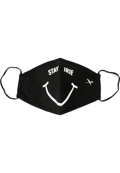 iriedaily Verschiedenes Smirie Black 2 Mask black vorderansicht 0972577