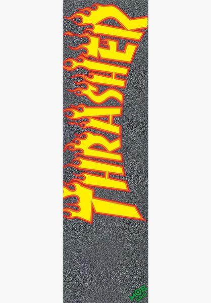 MOB-Griptape Griptape Thrasher Yellow and Orange Flame black-yellow vorderansicht 0142706
