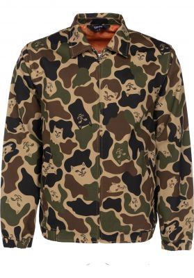 Rip N Dip Nermal Camo Cotton Coach Jacket