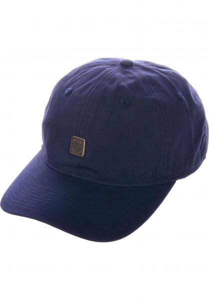 Element Caps Fluky Dad Hat Cap indigoblue vorderansicht 0565305