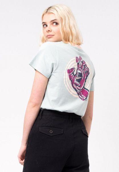 Santa-Cruz T-Shirts Off Hand cloudblue vorderansicht 0320470