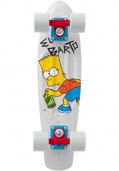 """Penny Cruiser komplett x Simpsons 22"""" elbarto-bart Vorderansicht"""