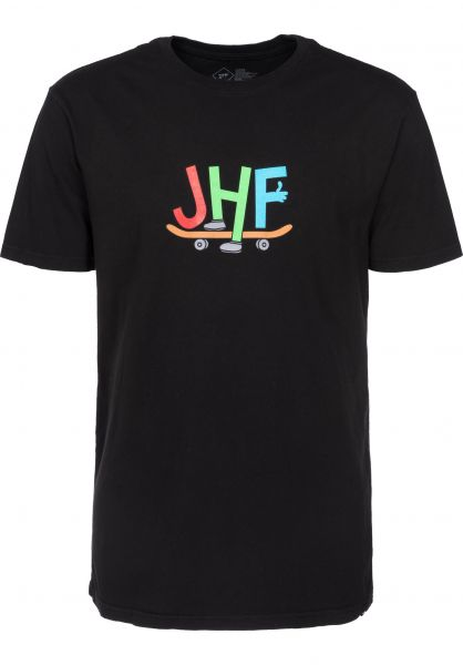 Just Have Fun T-Shirts Toons black Vorderansicht