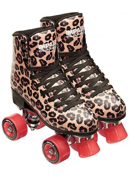 Impala Alle Schuhe Quad Rollschuhe / Rollerskates leopard vorderansicht 0292000